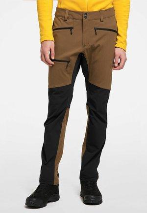 RUGGED FLEX PANT  - Outdoor trousers - teak brown/true black