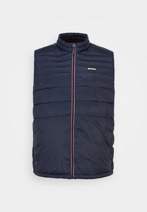 JJEACE BODYWARMER COLLAR - Vesta - navy blazer