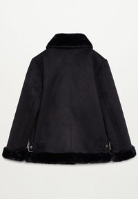 Mango - PINK - Zimní bunda - black - 1