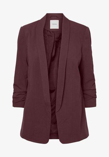 PCBOSS - Short coat - dark red
