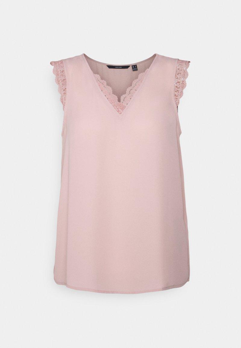 Vero Moda - VMPOEL - Print T-shirt - misty rose