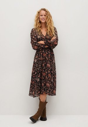 WINTER - Vestido informal - schwarz