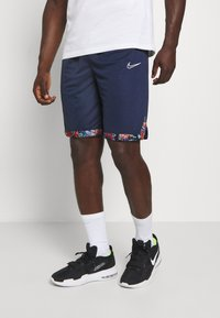 Nike Performance - DRY DNA SHORT - Sportovní kraťasy - college navy/team orange/white - 0