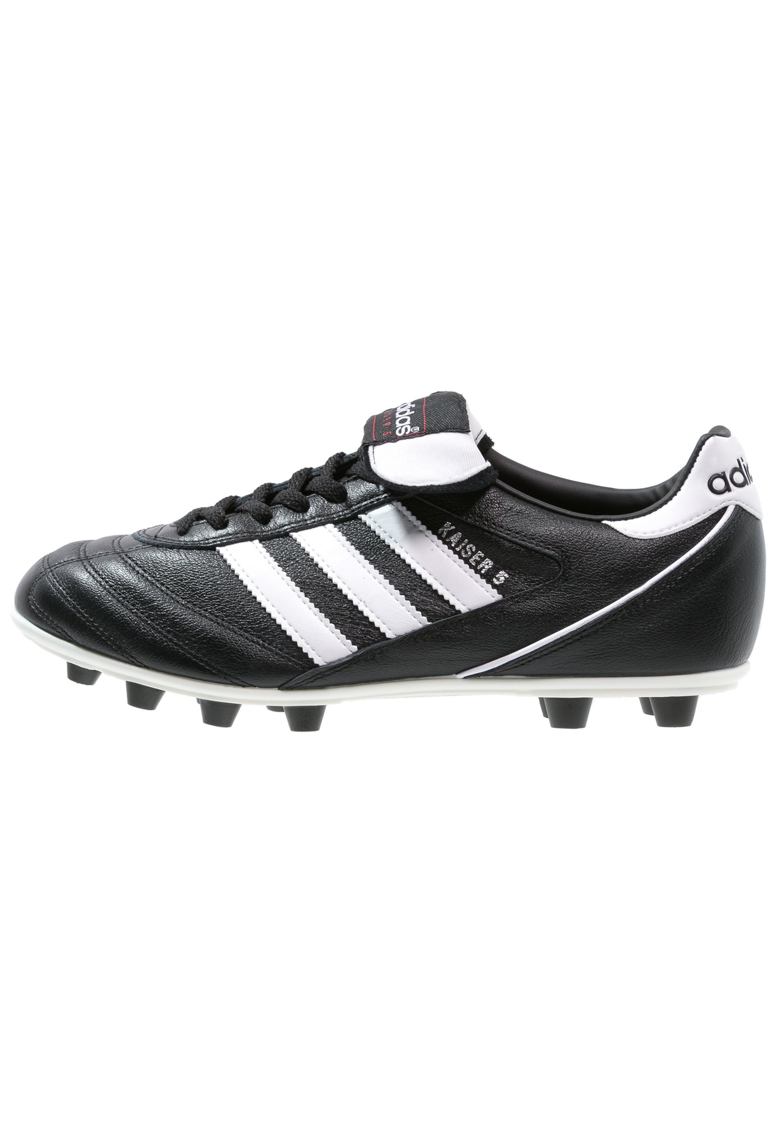 Men KAISER 5 LEATHER FOOTBALL BOOTS FIRM GROUND - Moulded stud football boots