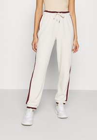 ONLY - ONLRIA LONG PANTS - Tracksuit bottoms - moonbeam - 0