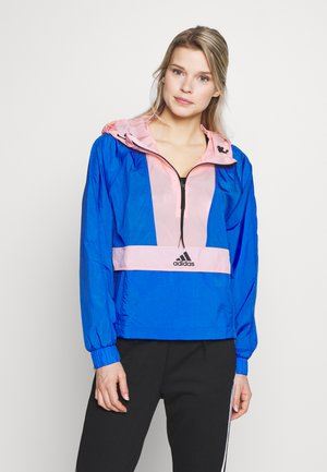 CROPPED WIND.RDY  - Windbreaker - blue/glopnk