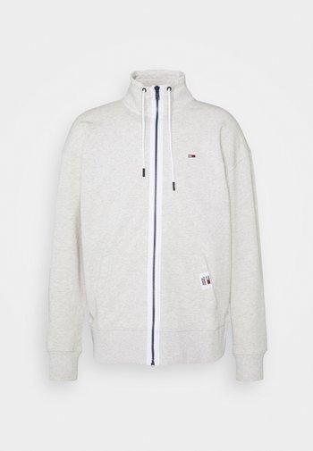 SOLID TRACK JACKET - Zip-up hoodie - grey