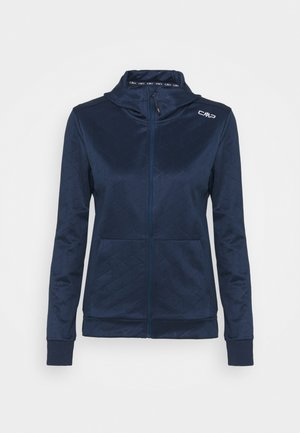 WOMAN FIX HOOD - Training jacket - blue