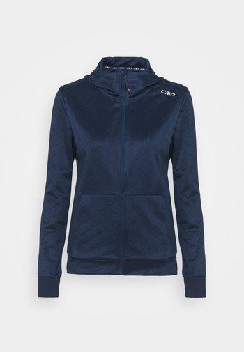 WOMAN FIX HOOD - Training jacket - blue