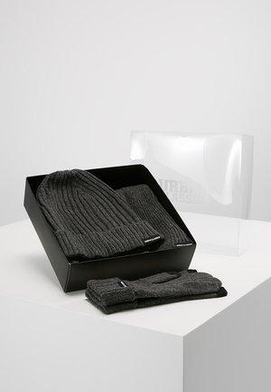 CLASSIC SET - Halsduk - darkgrey melange