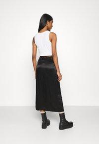 Weekday - TYRA SKIRT - A-line skirt - black - 2