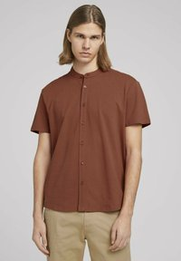 TOM TAILOR DENIM - Shirt - goji orange - 0