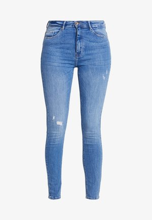 ONLPAOLA HIGHWAIST - Jeans Skinny Fit - light blue denim