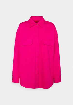 EVILY - Button-down blouse - bright pink