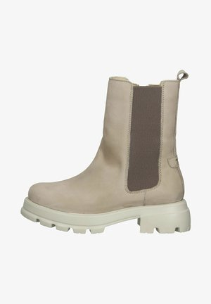 Ankle boots - ivory