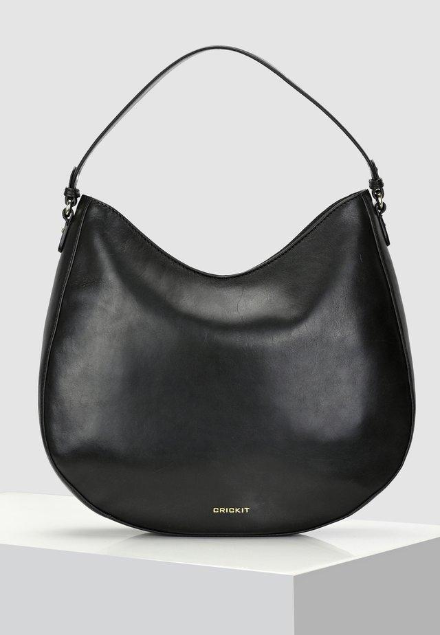 HOBO BAG CARISSIMA - Håndtasker - black