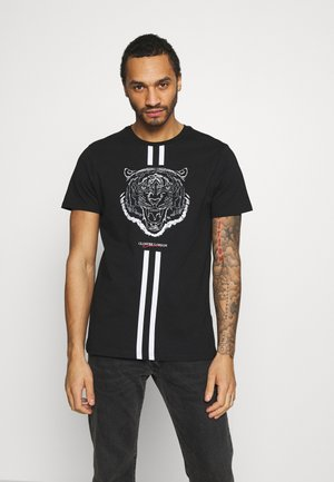 FURY TEE - Camiseta estampada - black