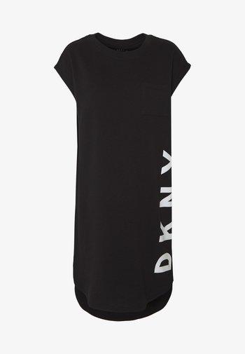 FOUNDATION LOGO DRESS - Day dress - black