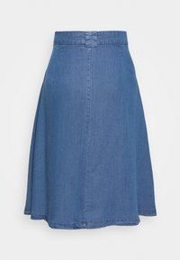 ONLY Petite - ONLMANHATTAN SKIRT - Denim skirt - dark blue denim - 1