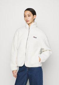 Fila - SARI SHERPA JACKET - Winter jacket - eggnog - 0