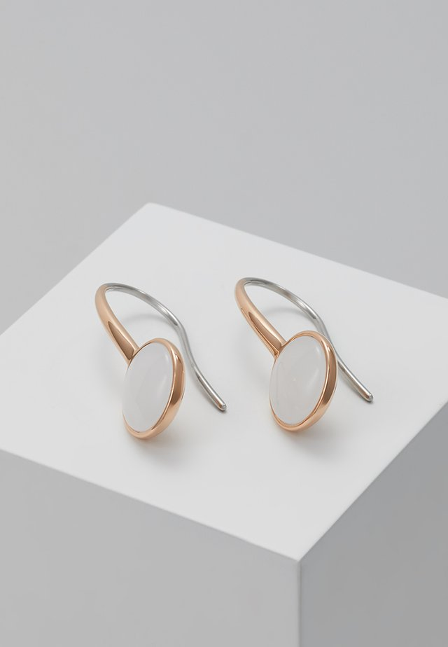 SEA GLASS - Boucles d'oreilles - roségold-coloured