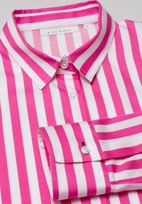 Eterna - Button-down blouse - pink weiss - 5