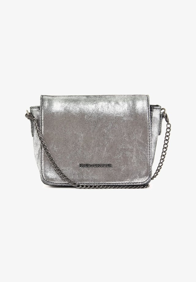 BRIGHT CRYSTAL - Across body bag - silver