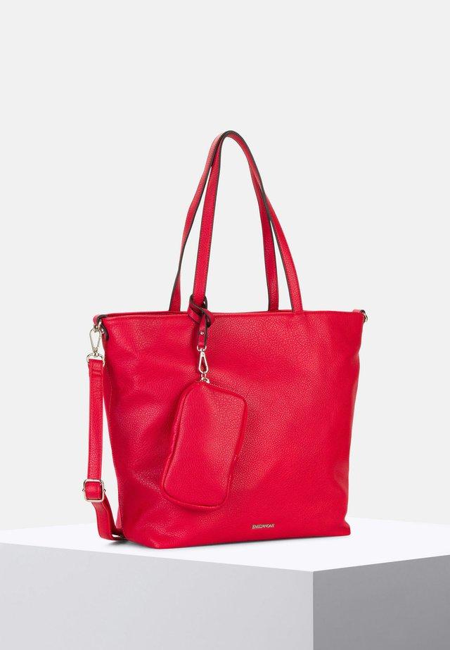 SURPRISE - Shopping bag - red