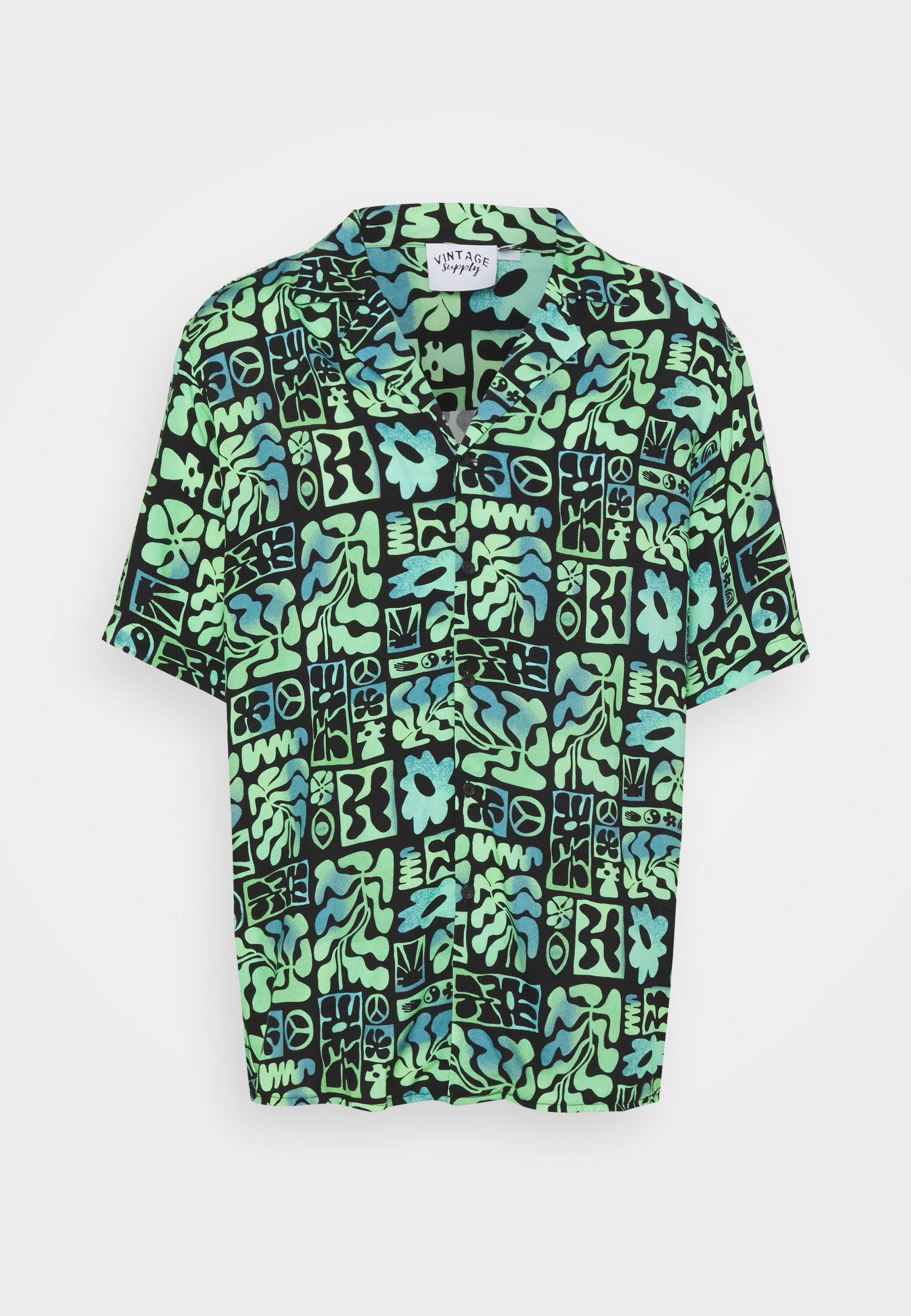 Homme REVERE SHIRT IN OMBRE ABSTRACT PRINT UNISEX - Chemise