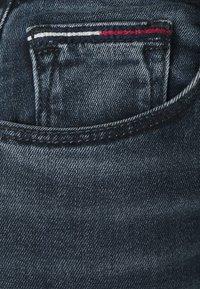 Tommy Jeans - SYLVIA SKNY ABBS - Jeans Skinny Fit - blue-black denim - 5