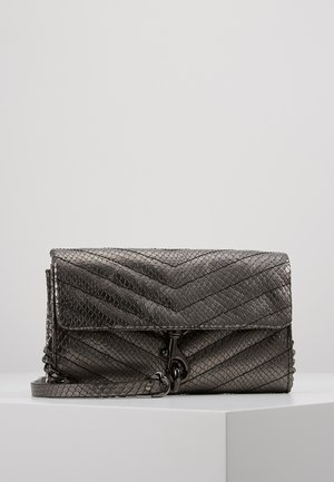 EDIE WALLET ON CHAIN - Clutches - anthracite