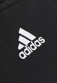 adidas Performance - CROP HOODIE  - Hoodie - black/white