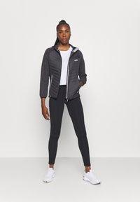 Regatta - PEMBLE II HYBRID - Fleece jacket - ash/black - 1