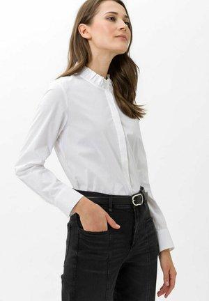 STYLE  VALINA - Button-down blouse - white