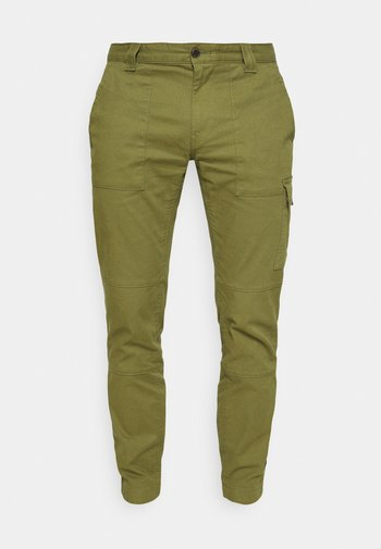 SCANTON DOBBY PANT - Reisitaskuhousut - green