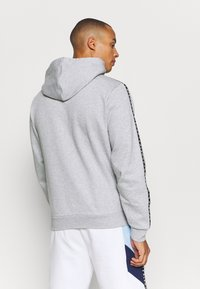 Lacoste Sport - TAPERED - Mikina na zip - gris chine/noir/blanc - 2