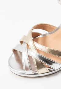 Steven New York - CACY - High heeled sandals - silver/gold - 2