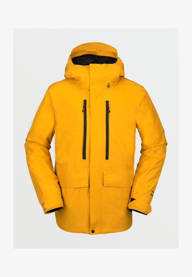 TEN GORE-TEX JACKET - Snowboardjas - resin_gold