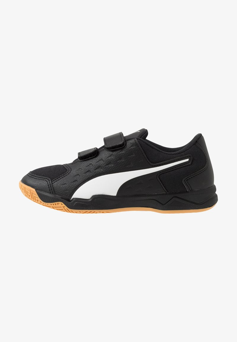 Puma - AURIZ V JR UNISEX - Sports shoes - black/white