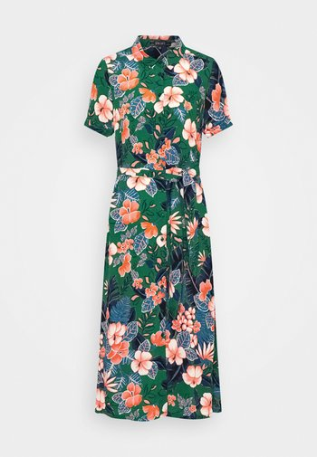 DRESS LILO - Shirt dress - fern green