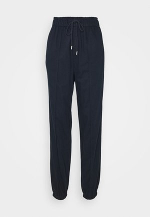 WARM JOGGER DRAWSTRING - Tracksuit bottoms - navy