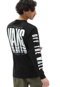 Vans - MN VANS REFLECT LS - Långärmad tröja - black - 1