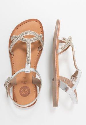 BEZIERS - Sandals - plata