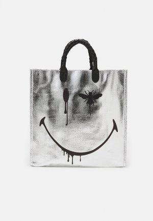 COOL BAGSHOPPER - Tote bag - silver-coloured/black