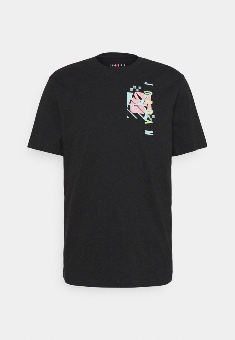 Jordan - AIR FUTURA CREW - Print T-shirt - black