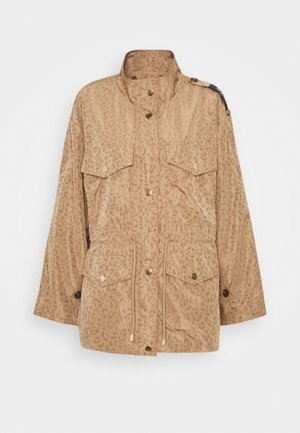 JACKET PRINTED XERO - Summer jacket - beige