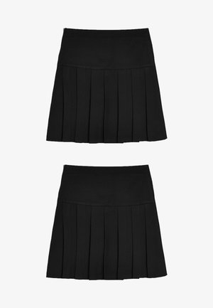 2 PACK  - A-lijn rok - black