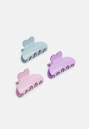 PCLIMA HAIRSHARK KEY 3 PACK - Haaraccessoire - pastel lilac/mult/solid