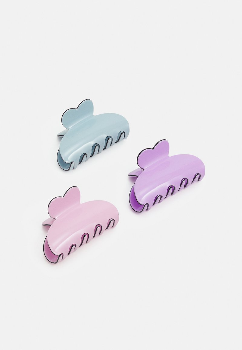 Pieces - PCLIMA HAIRSHARK KEY 3 PACK - Hair styling accessory - pastel lilac/mult/solid