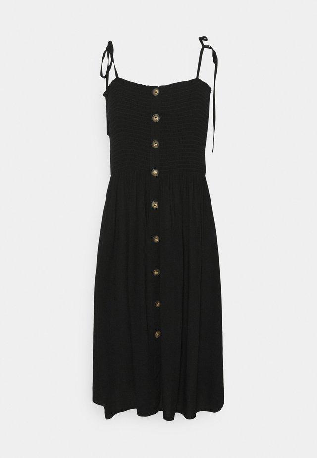 ONLANNIKA SMOCK DRESS - Korte jurk - black